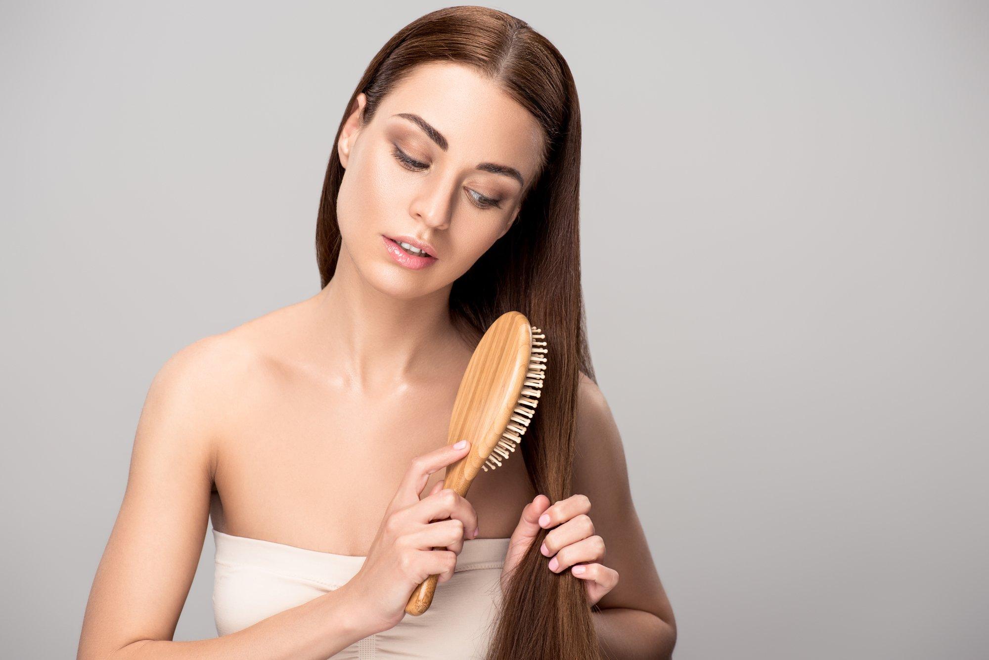 выбрать расческу длинных волос
