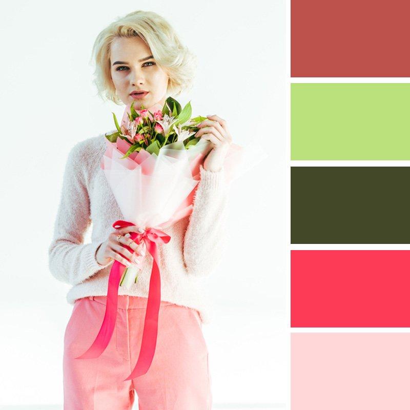 комбинация цветов