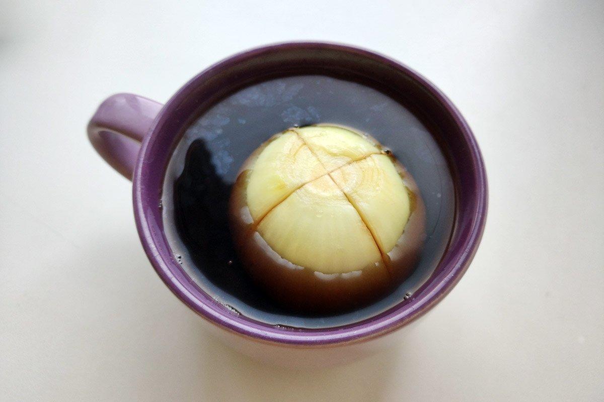 луковый чай