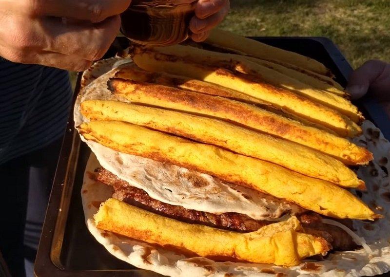 люля-кебаб из картофеля рецепт