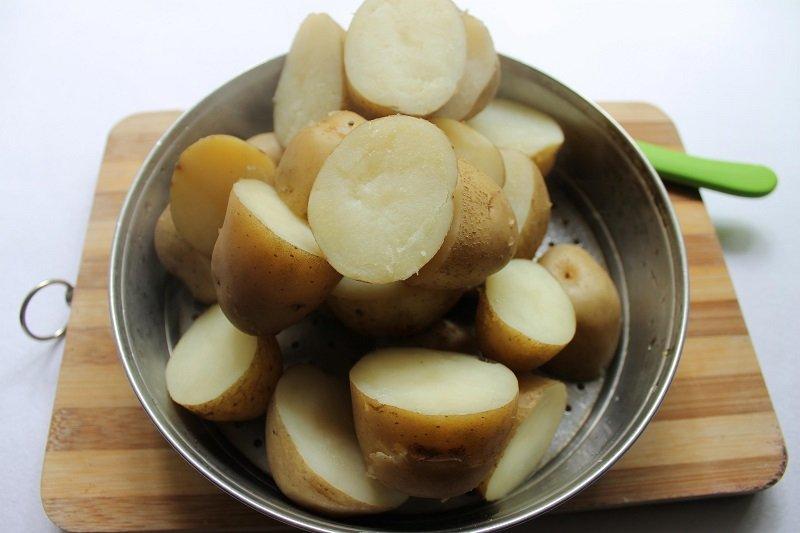 люля кебаб из картофеля на мангале