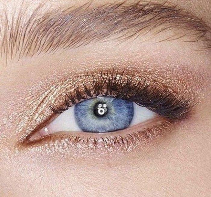 макияж глаз для начинающих
