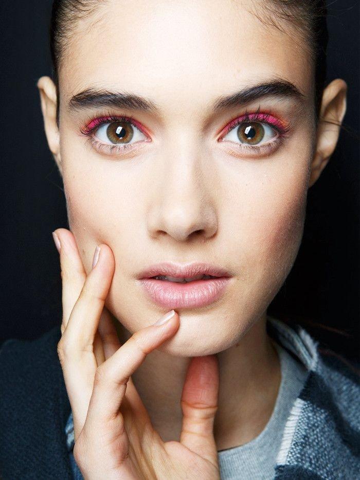 как делать макияж для увеличения глаз
