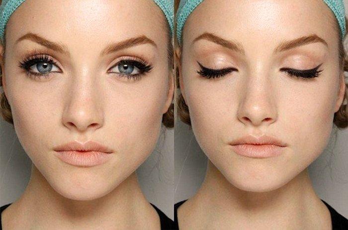 Как сделать глаза шире