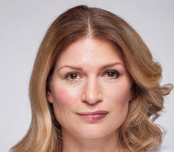 макияж на пол лица