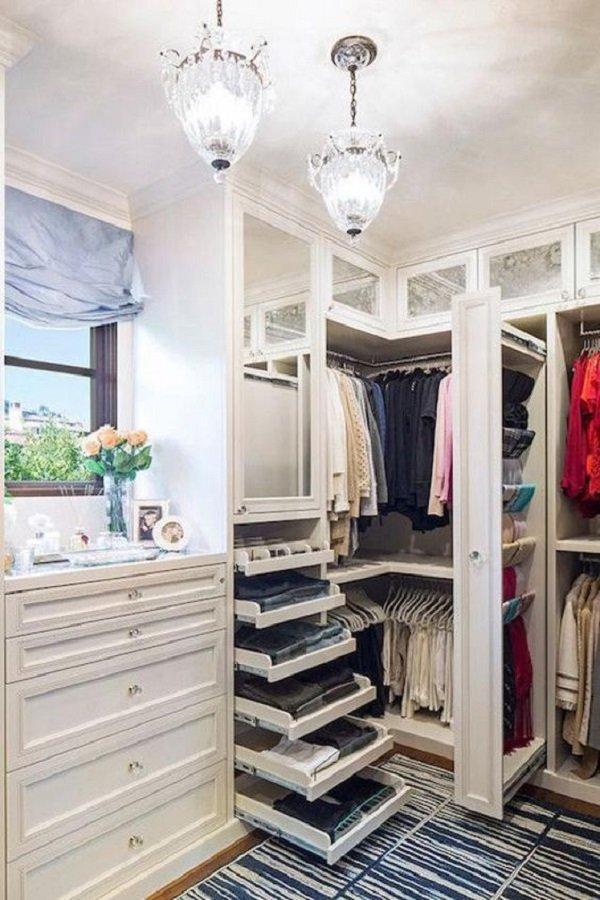 маленькая гардеробная комната своими руками