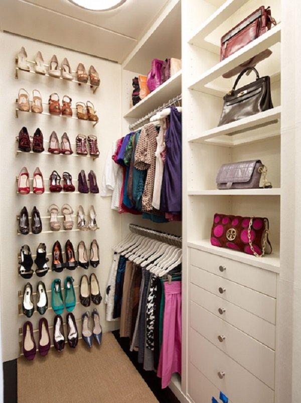гардеробная комната фото