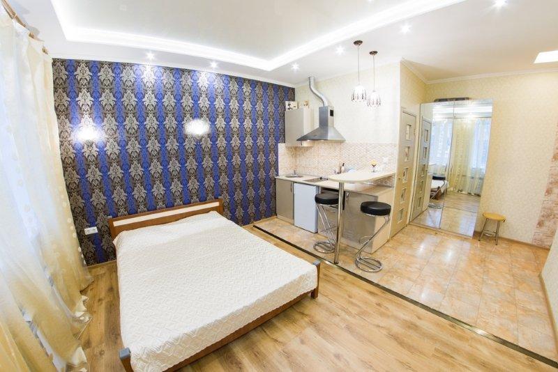маленькая квартира-студия дизайн