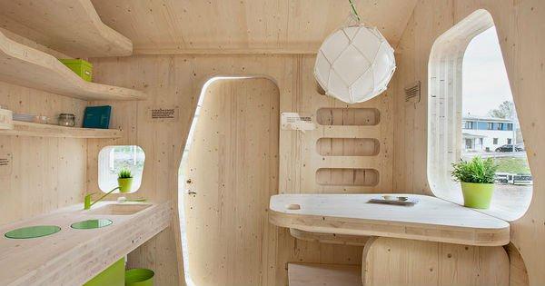 Для шведских студентов построили самый компактный дом, который ты когда-либо видел!