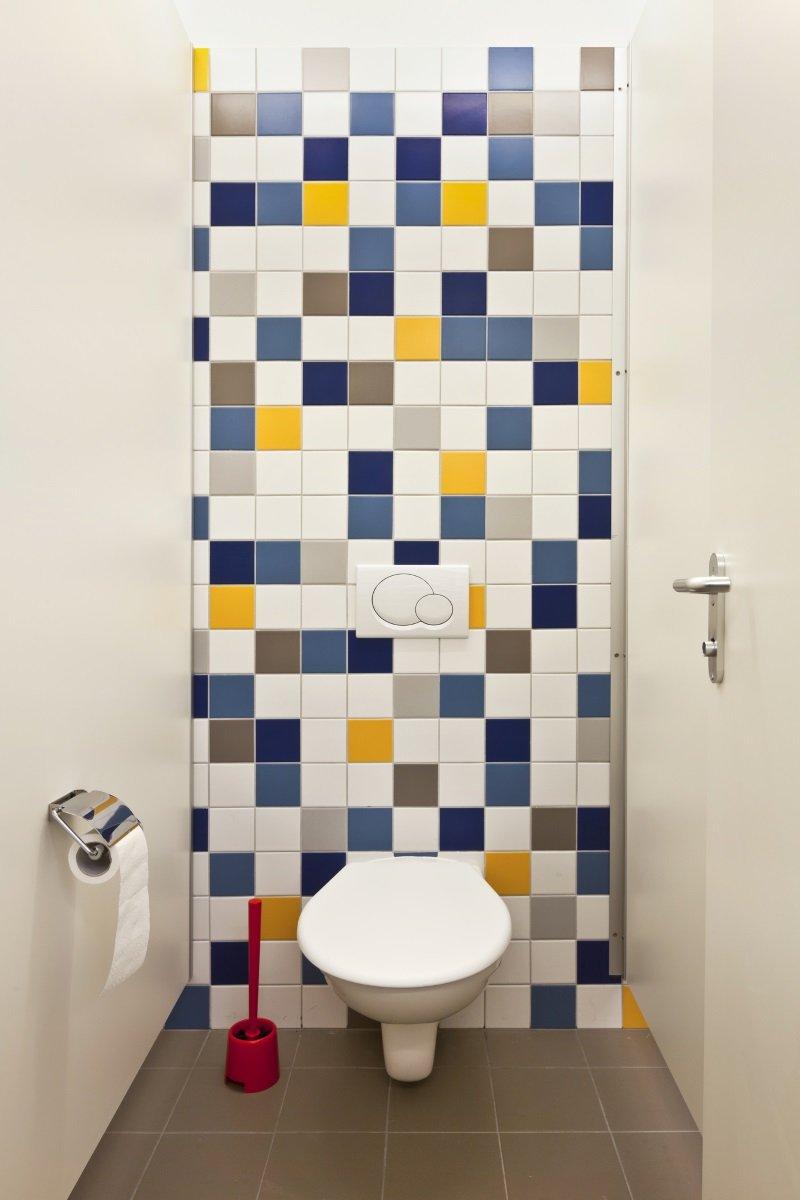 дизайн туалета в стиле лофт
