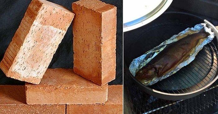 мангал из кирпича