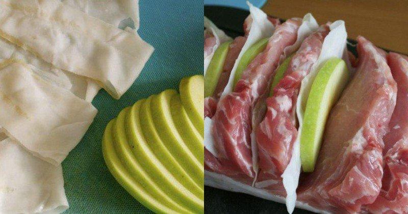 маринована свинина в духовці у фользі