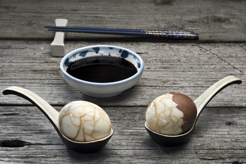 маринованные яйца по китайски