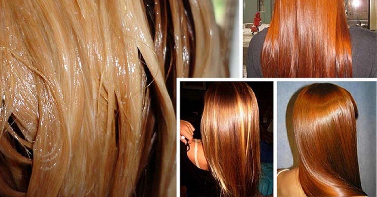 Прозрачное тонирование волос