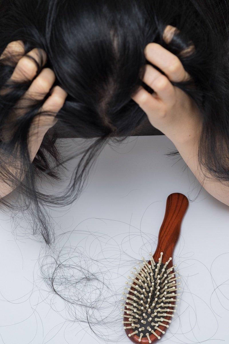 vlasová maska s dimexidom