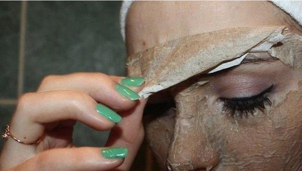 маска пленка для лица секреты египта эйвон