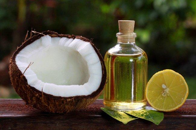 кокос и лимон