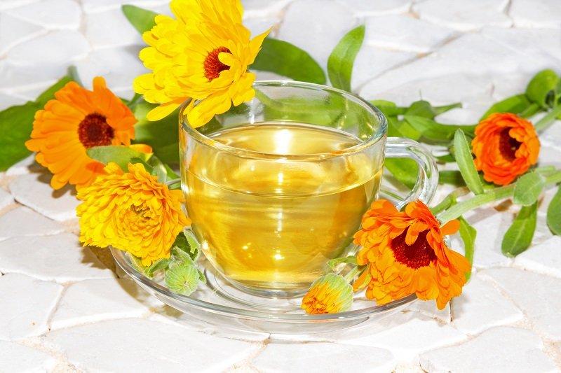 чай из календулы для похудения