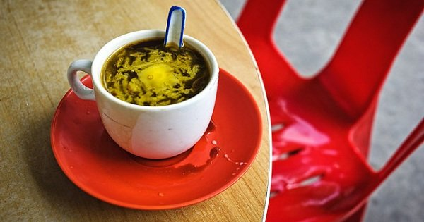 масляный кофе