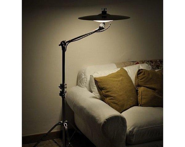 светильники из барабана