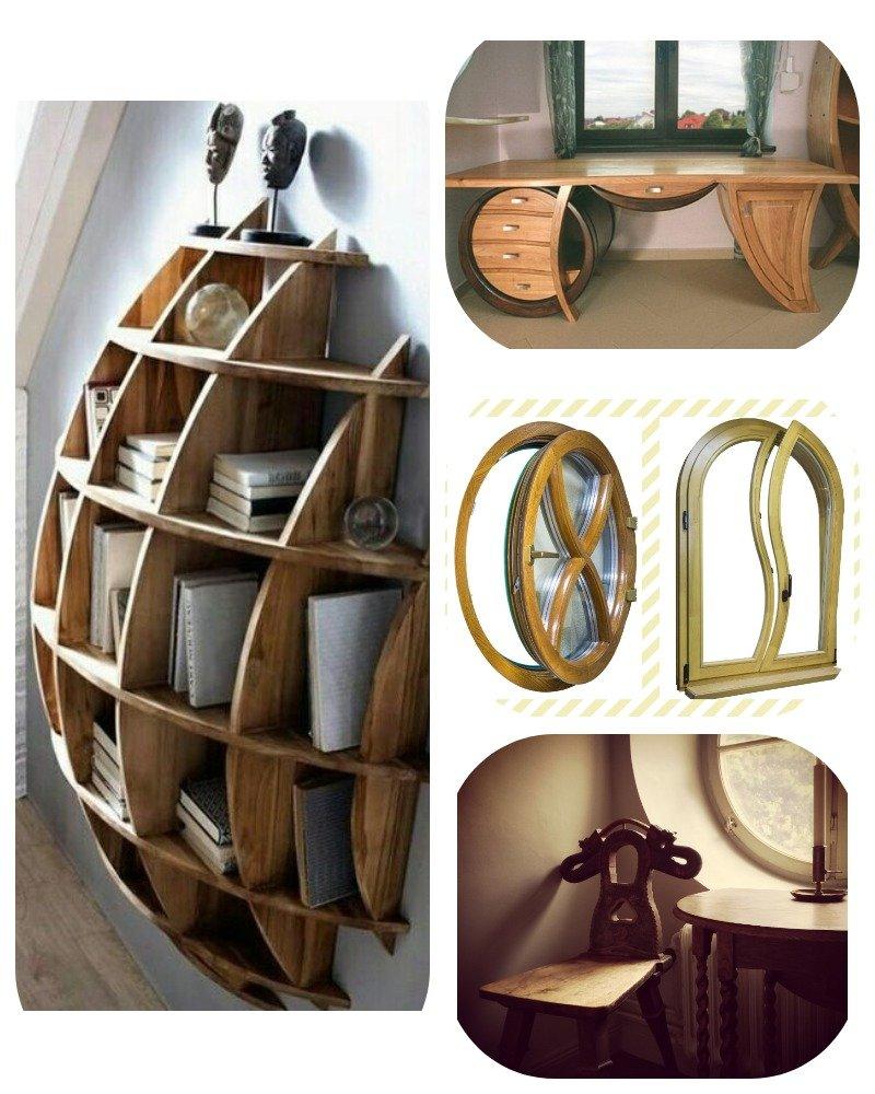 мебель округлой формы