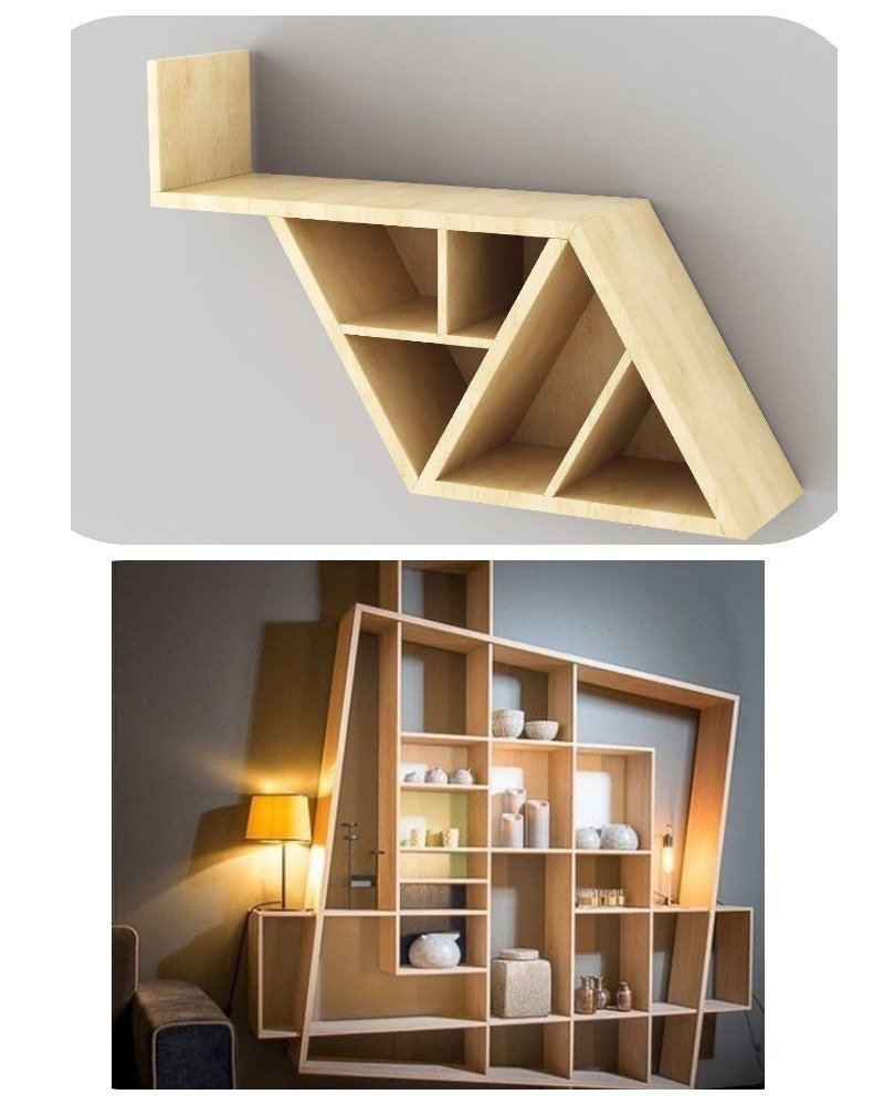 мебель из геометрических фигур