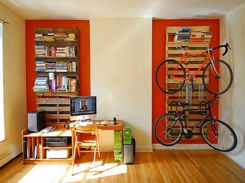 мебель из паллет в интерьере