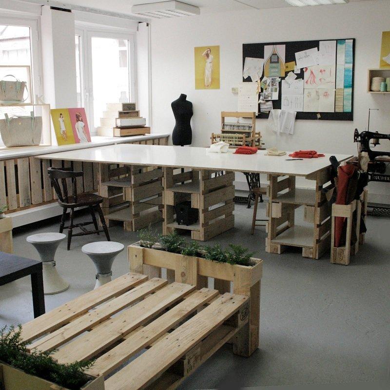 мебель из паллет дизайн
