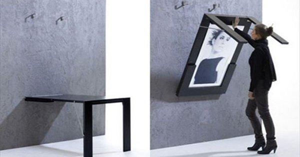 Экономь место со вкусом: оригинальная мебель-трансформер для стильного жилища.