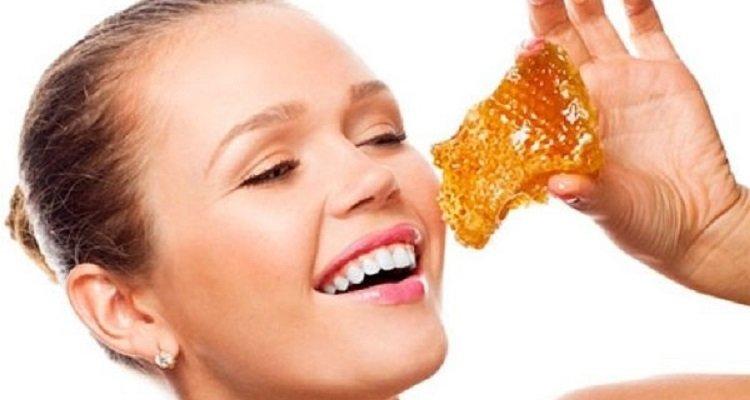 медовые соты как есть