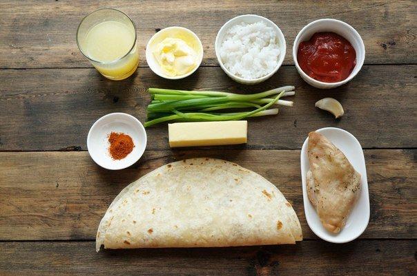 Мексиканское буррито