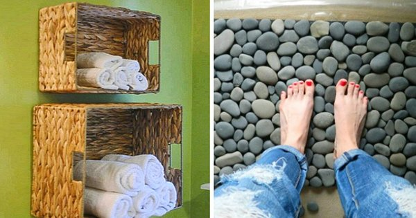 12 небанальных идей для ванной комнаты, которые сразу хочется воплотить в жизнь!