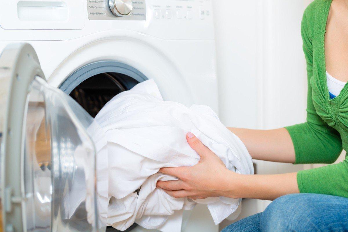 как стирать пододеяльники