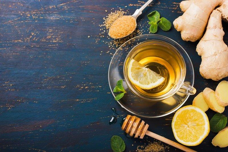 лимон имбирь и мед