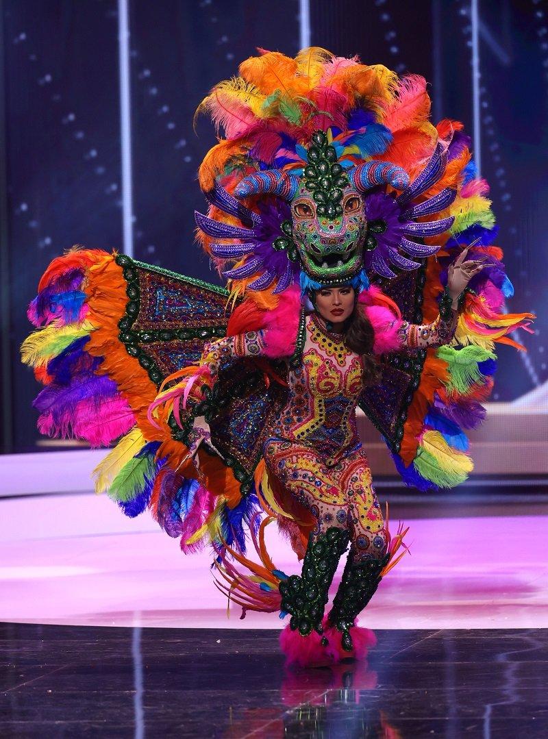 Чем поразило платье украинки на конкурсе «Мисс Вселенная — 2021» Вдохновение,Женщины,Красота,Лайфхаки,Наряды,Одежда,Платья,Праздники