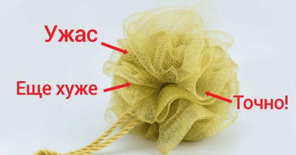 Врачи предупреждают женщин всего мира, чтобы те прекратили пользоваться мочалками!