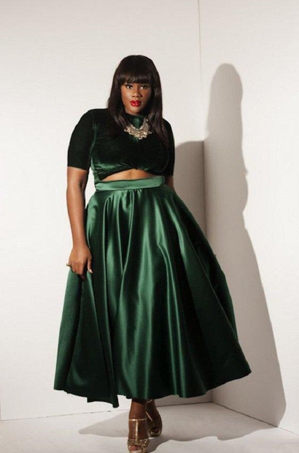 модели платьев для полных женщин 50 лет