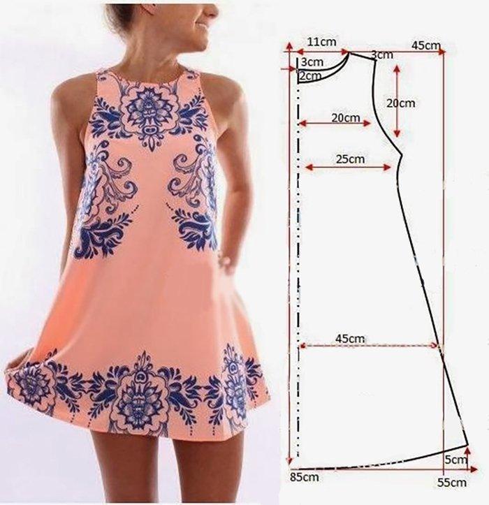 Как сшить короткое платье своими руками 6