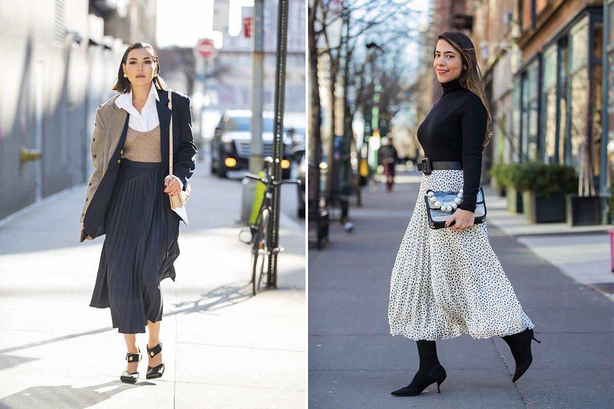 Модели юбок для женщин, давно вышедшие из моды