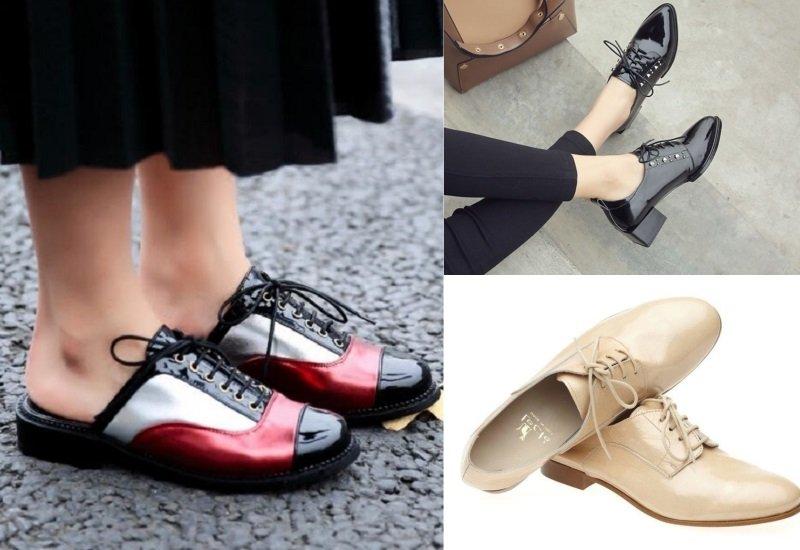 модная летняя обувь на низком каблуке