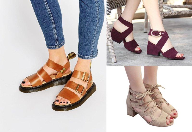модная летняя обувь для женщин