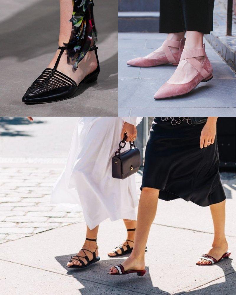 модная летняя обувь на платформе