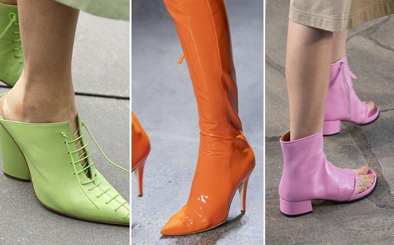 модная обувь 2019 весна