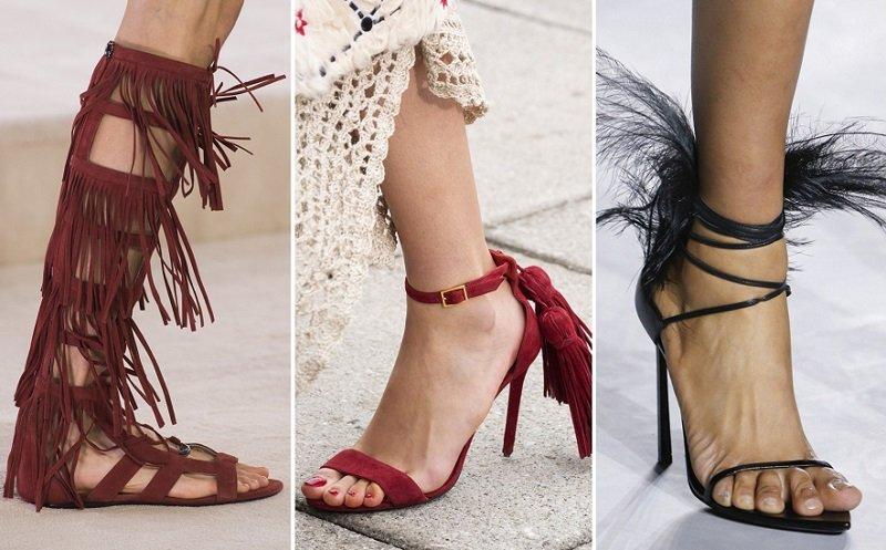 модная обувь 2019 весна лето