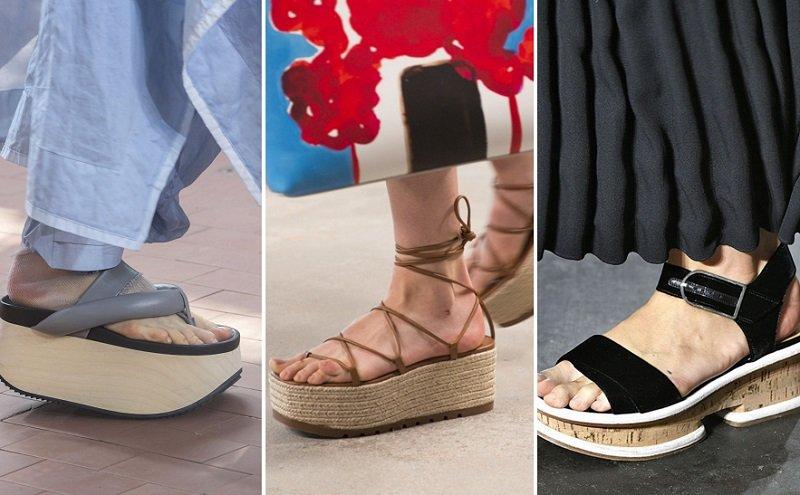 модная обувь 2019 лето