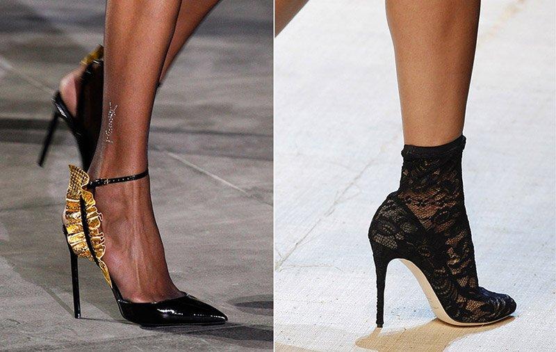Модная обувь на осень-весну 2017-2018: новинки, тренды