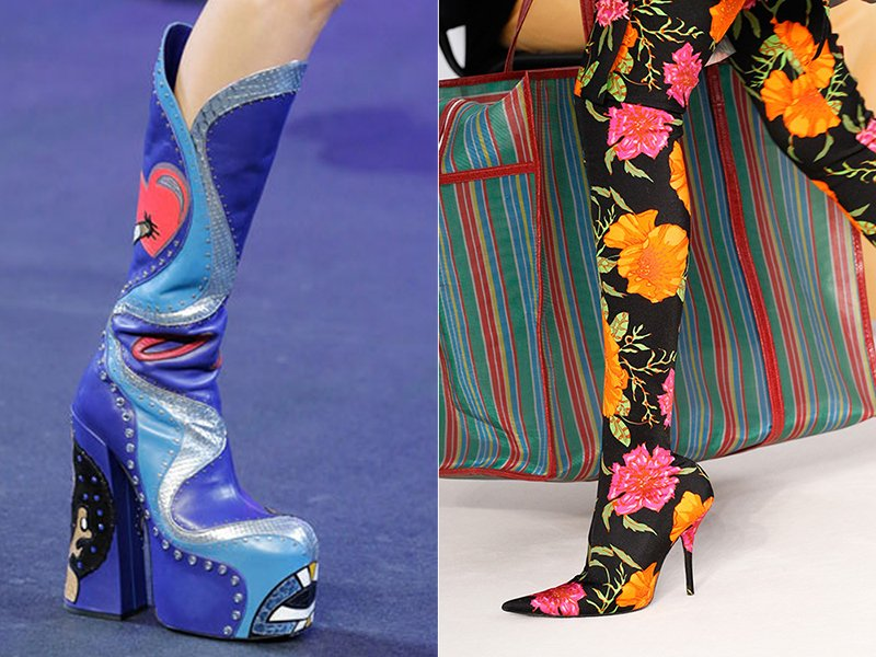 Svetlé letné topánky