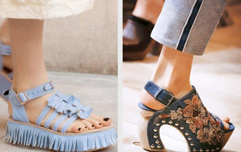 kreatívne topánky