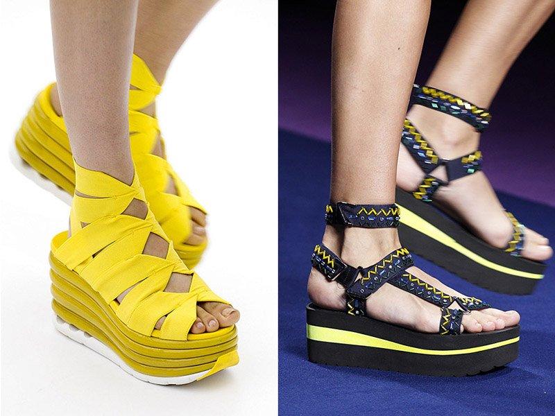 topánky na rovnú plošinu