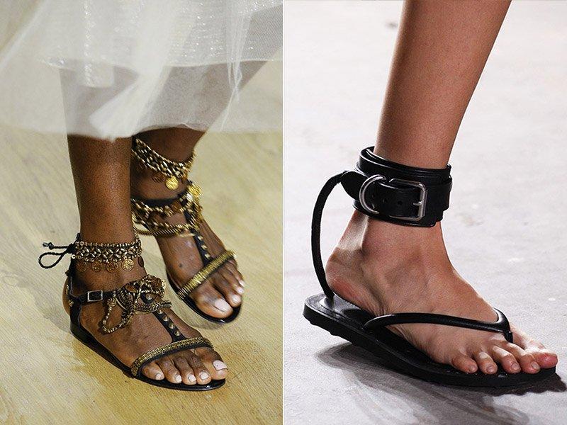 ploché topánky